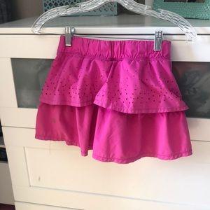 Lululemon pink layered skirt